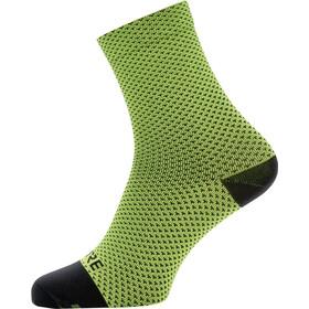 GORE WEAR C3 Dot Middelhoge Sokken, geel/zwart
